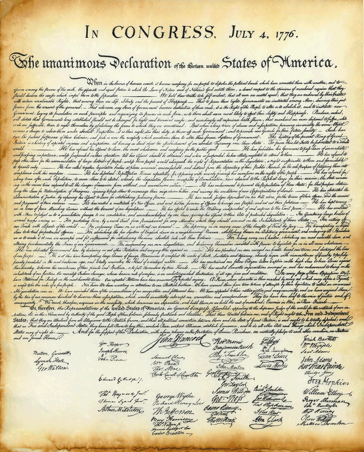 Is It Real Declaration Of Independence
