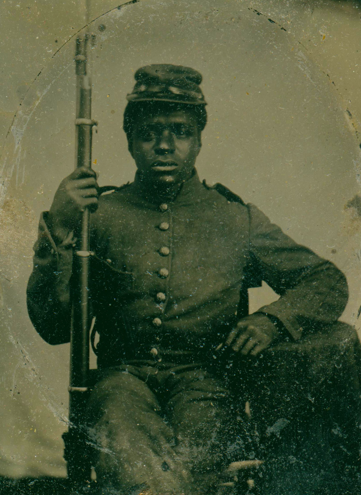 the black soldier in the early republic Early republic economics the black badge of courage: the politics of freedom and the memory of black soldiers in the civil war negro mother to her soldier son.