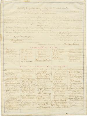 Abolishing Slavery: The Thirteenth Amendment Signed by ...