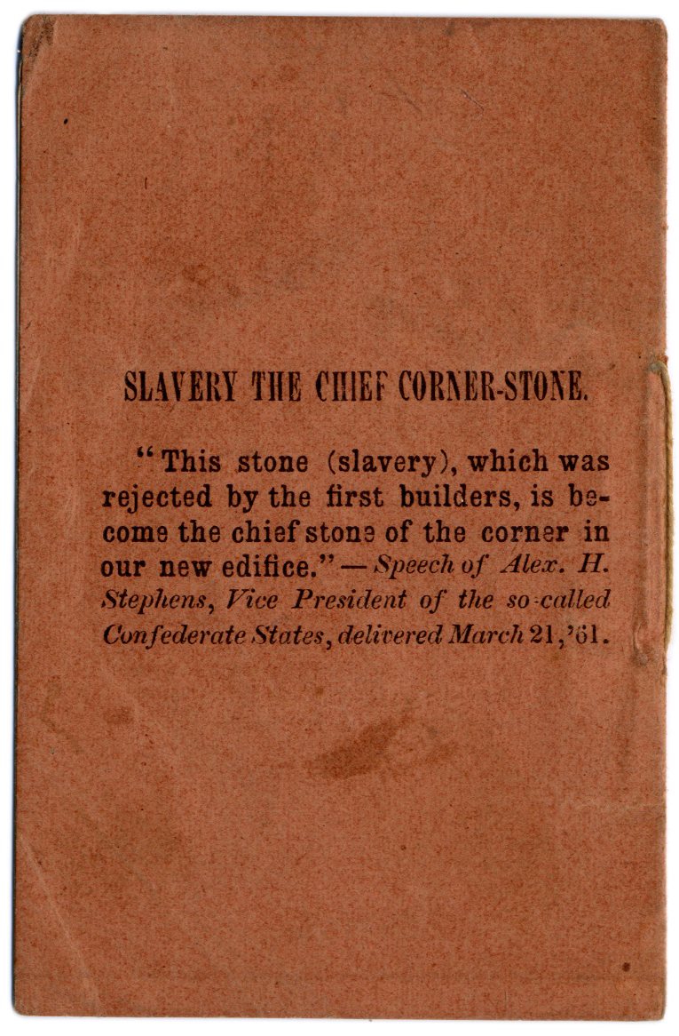 slavery speech